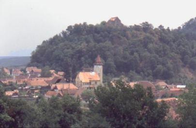Michelsberg hat natürlich auch eine Burg.